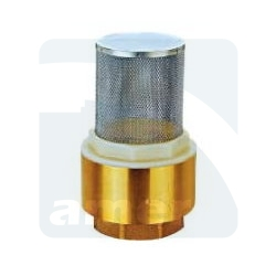 Brass Foot Valve - Light Type
